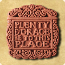 Plenty and Grace terracotta tile