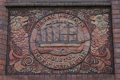 SS Great Britain ceramic mural