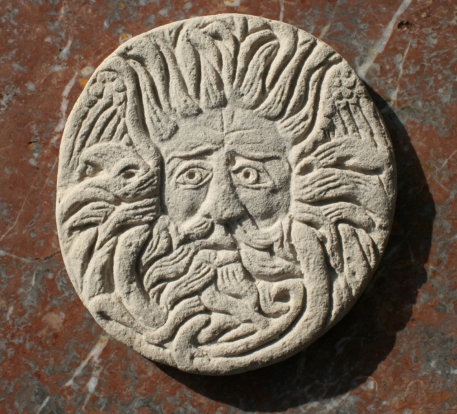 Gorgon's Head from the Roman Baths