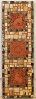 Fine wall art created by Laughing Dog Mosaics (Tionesta USA)