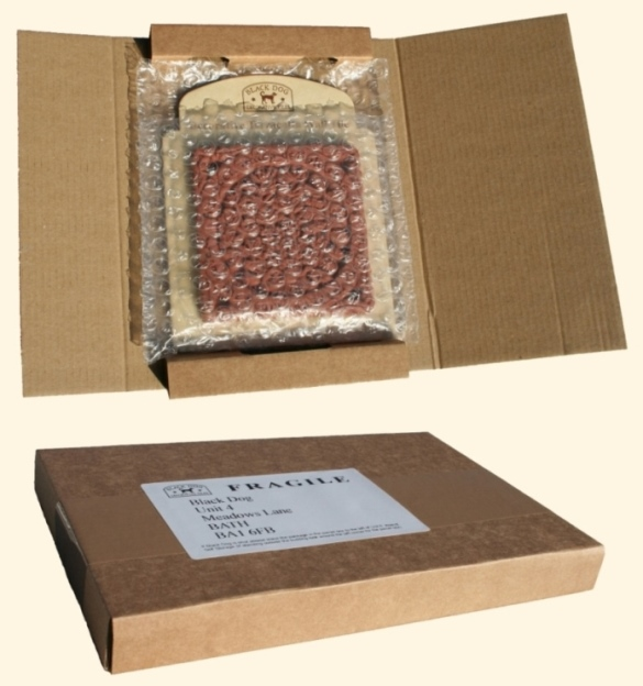 Shops - mail order packaging option