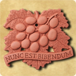 Personalised example of A personalised grape tile for sophisticated palates