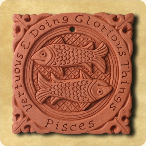 Pisces or the Fishes sign of the Zodiac