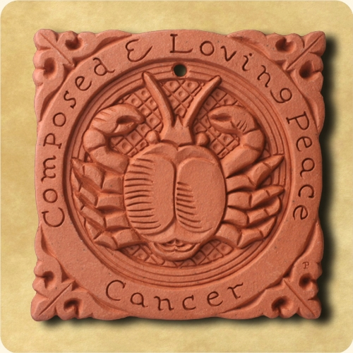 Cancer or the Crab sign of the Zodiac