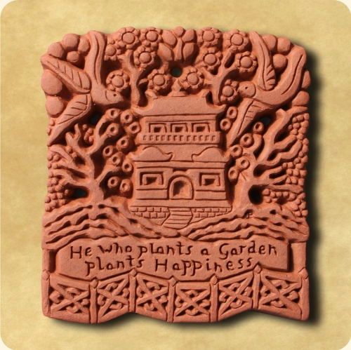 Chinese Garden wall decor