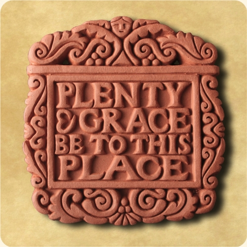 Plenty and Grace be to this Place wall decor