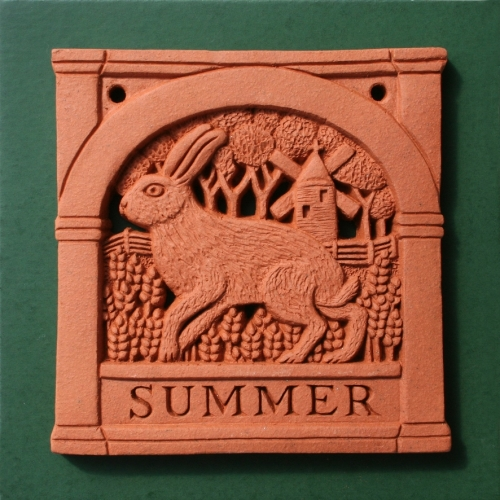 Summer - Four Seasons wall plaque