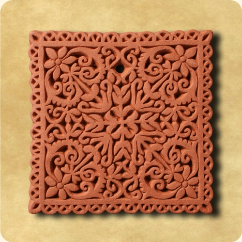 Lace wall plaque