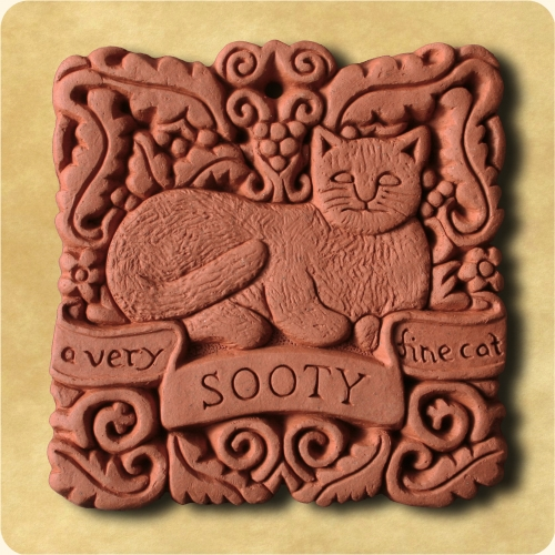 Personalised Cat wall plaque