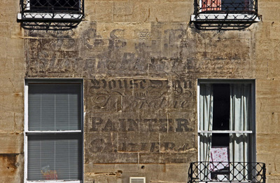R Bosley Ghost Sign